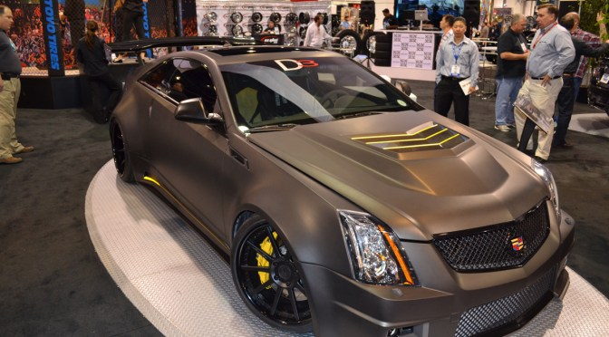 Sema 2011 – Cadillac CTS-V Coupe – Love dat fat ass!
