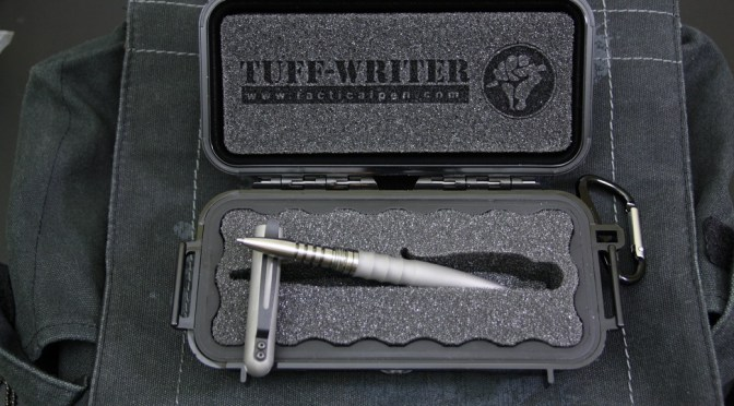 Tuff Writer Tactical Pens