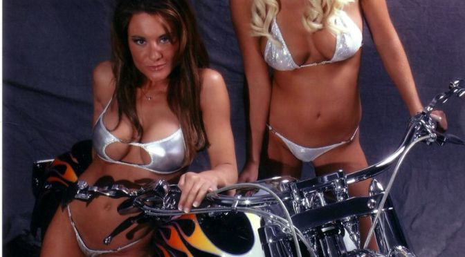 Here are some hot chicks with bikes for all my Road Star Warrior Forum fans.