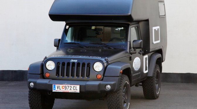 Jeep Action Camper from Thaler Design in Austria