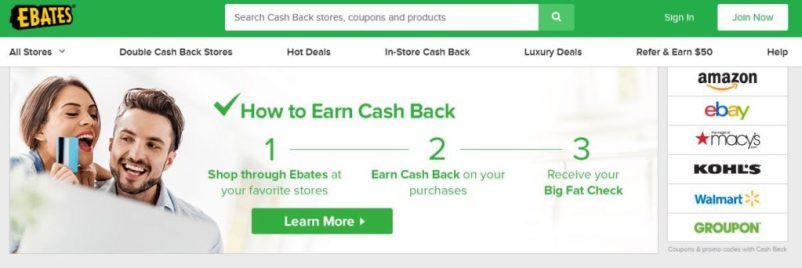 Ebates - Make Extra Money with Paid Surveys