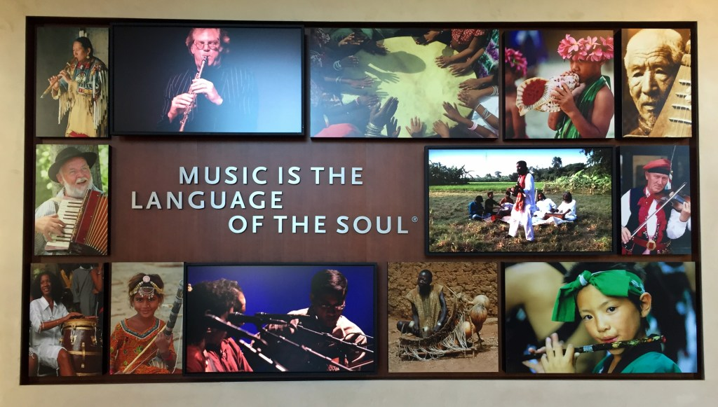 Music is the language of the soul. | Musical Instrument Museum - Phoenix, Arizona