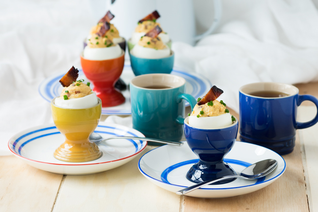 the worktop bacon deviled eggs