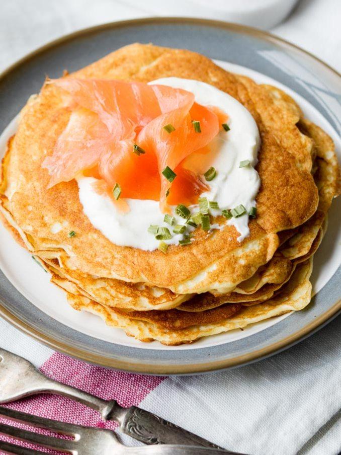 Keto Cream Cheese Pancakes with Almond Flour | The Worktop
