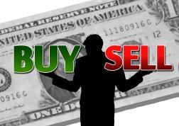 dollar-Stock exchange buy sell