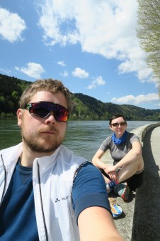 Bestes Wetter an der Donau