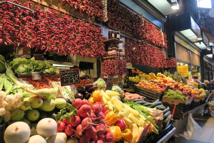 Markt in Budapest