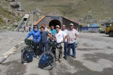Selfies mit Kirgisen