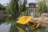 Verlassener Vergnügungspark in Hami