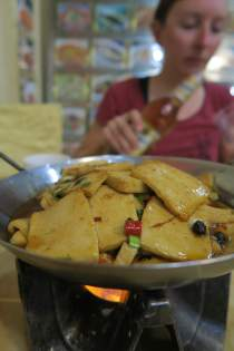 Tofu satt - unser Lieblingsessen
