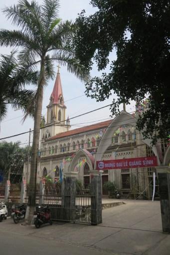 Katholische Kirche in Lao Cai