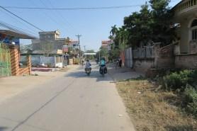 Durch die ländlichen Straßen Vietnams