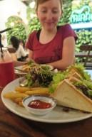 Veganes Clubsandwich