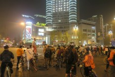 Night Ride in Chengdu