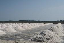 Salzgewinnung am Meer