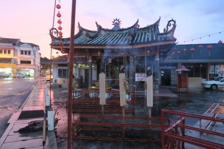 Chinesischer Schrein in Malaysia