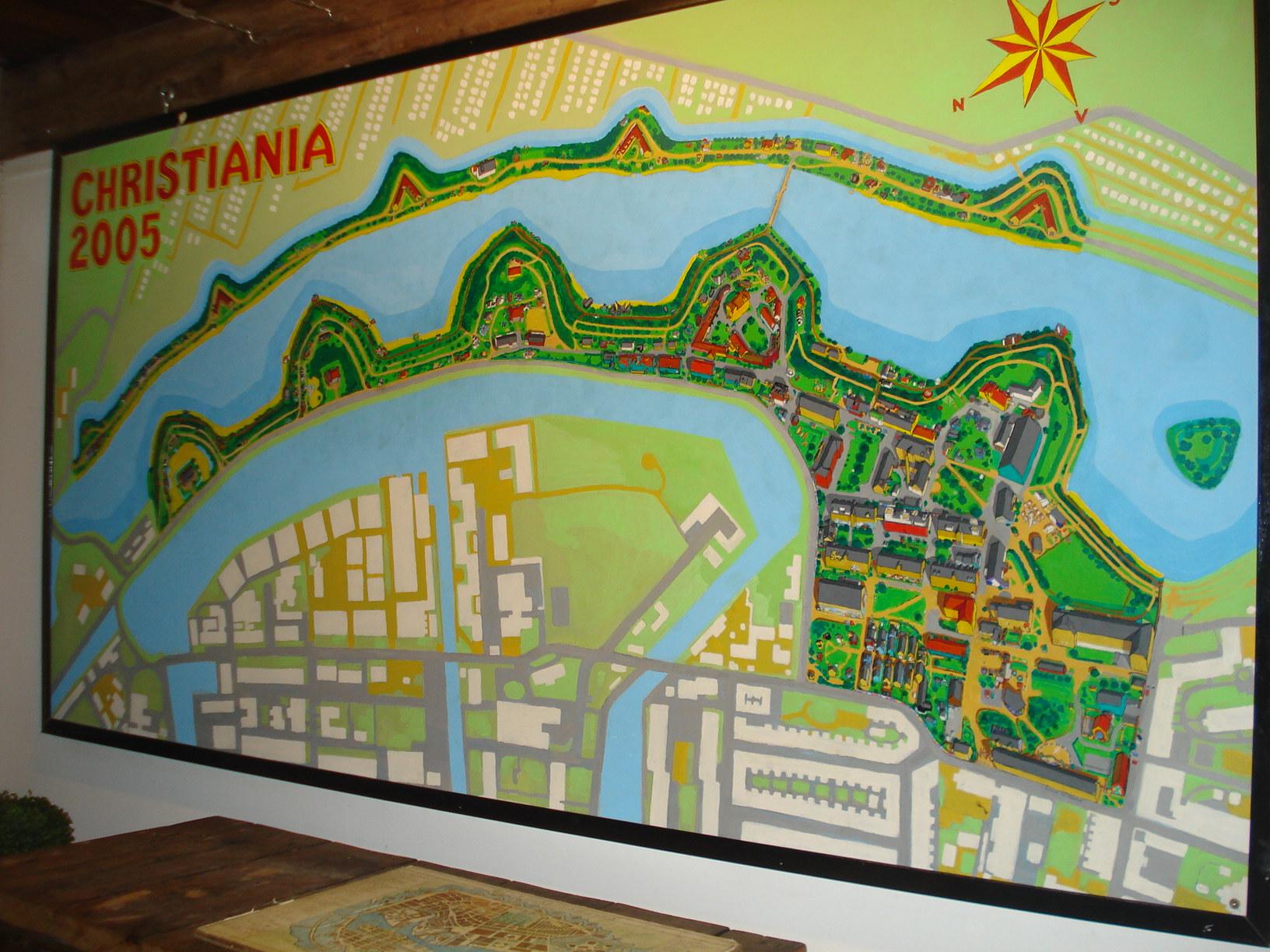 Christianshavn map