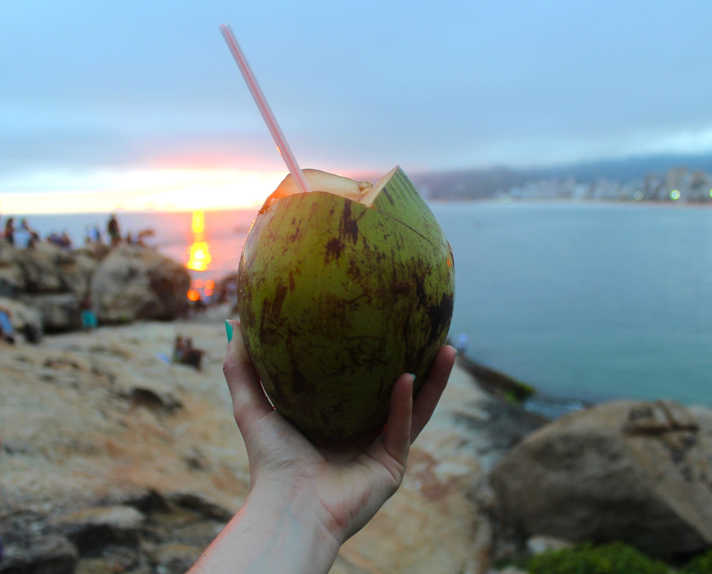 Arpoador sunset coconut