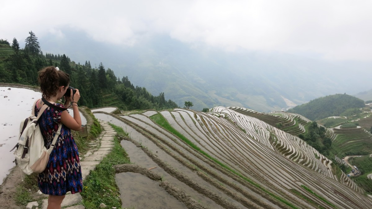 Stairway to heaven? Or Longji's Rice Terraces?
