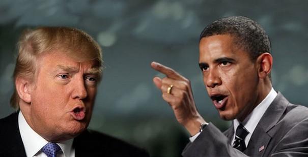 Image result for Obama vs trump