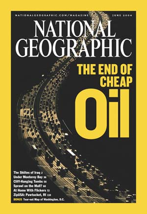 National Geographic cover - Peak Oil
