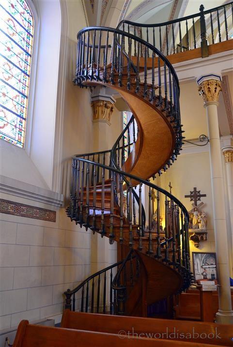 Miraculous Stairway Of Loretto Chapel Santa Fe The World Is A Book | Stairway Of Loretto Chapel | Story | Mysterious | Jesus | Wood | Miraculous Staircase