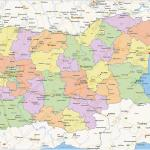 Digital Political Map Of Bulgaria 1428 The World Of Maps Com
