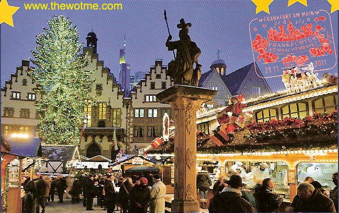 Frankfurter Weihnachtsmarkt, el mercado de Navidad más grande de Alemania - mercado navidad frankfurt - Frankfurter Weihnachtsmarkt, el mercado de Navidad más grande de Alemania