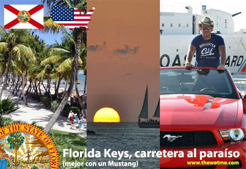 Florida Keys, carretera al paraíso (mejor con un Mustang) Florida Keys, carretera al paraíso (mejor con un Mustang) florida keys