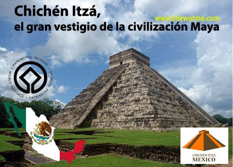 Chichén Itzá, el gran vestigio de la civilización Maya - chichen itza yucatan - Chichén Itzá, el gran vestigio de la civilización Maya