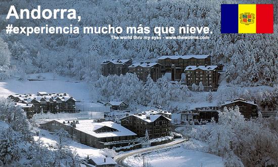 Andorra, mucho más que nieve thewotme@TV - andorra experience - thewotme@TV