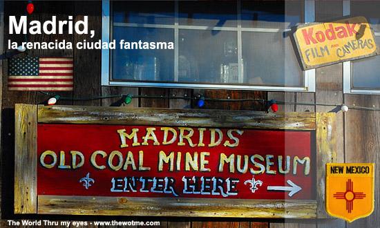 Madrid, la renacida ciudad fantasma - madrid new mexico usa - Madrid, la renacida ciudad fantasma