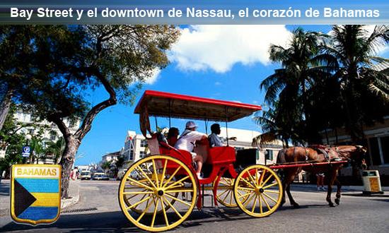 Bay Street Bahamas Bay Street y el downtown de Nassau, el corazón de Bahamas Bay Street y el downtown de Nassau, el corazón de Bahamas bay street