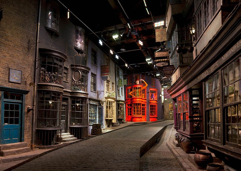 harry potter studios londres