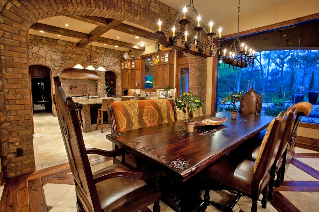 20 Outstanding Mediterranean Dining Design Ideas