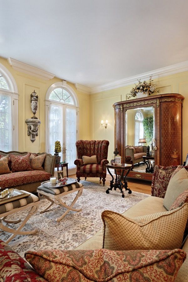 31 Victorian Living Room Design Ideas
