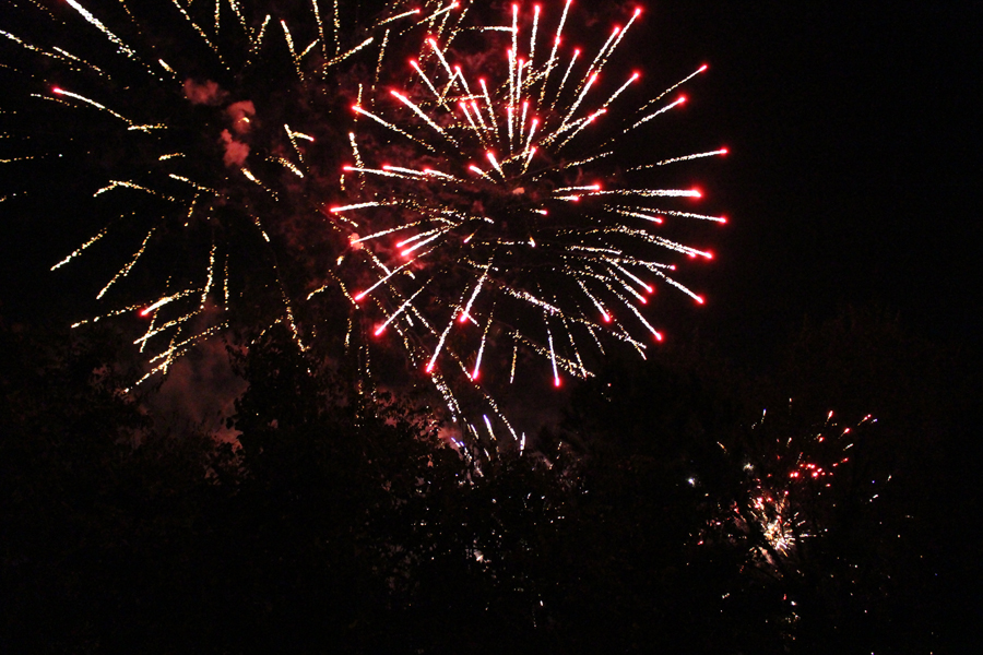 Fireworks at the Texas Renaissance Festival!