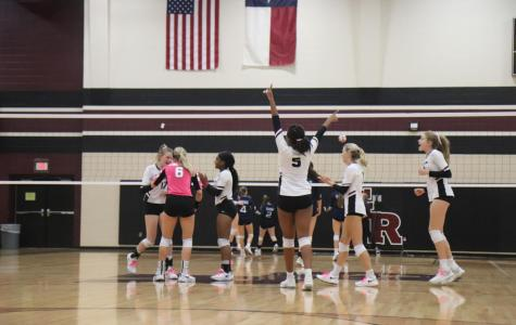 Varsity Volleyball v. Brazoswood