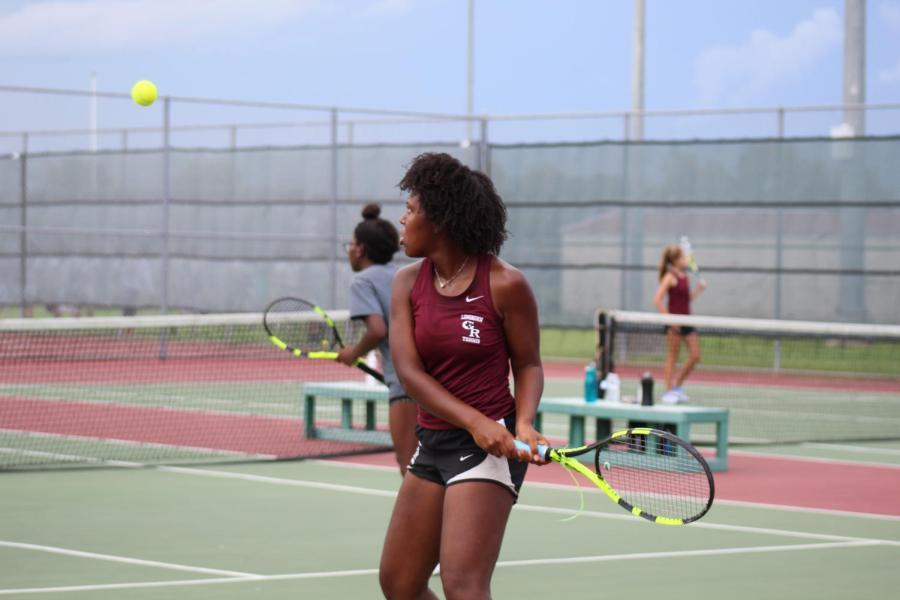 Varsity Tennis v. Travis