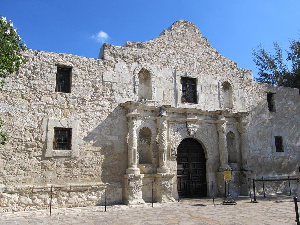 https://pixabay.com/en/alamo-downtown-san-antonio-texas-368387/