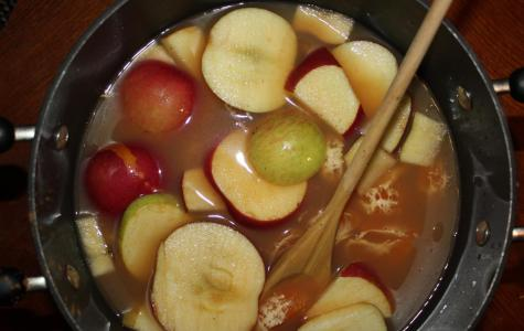Hot, Spiced Apple Cider