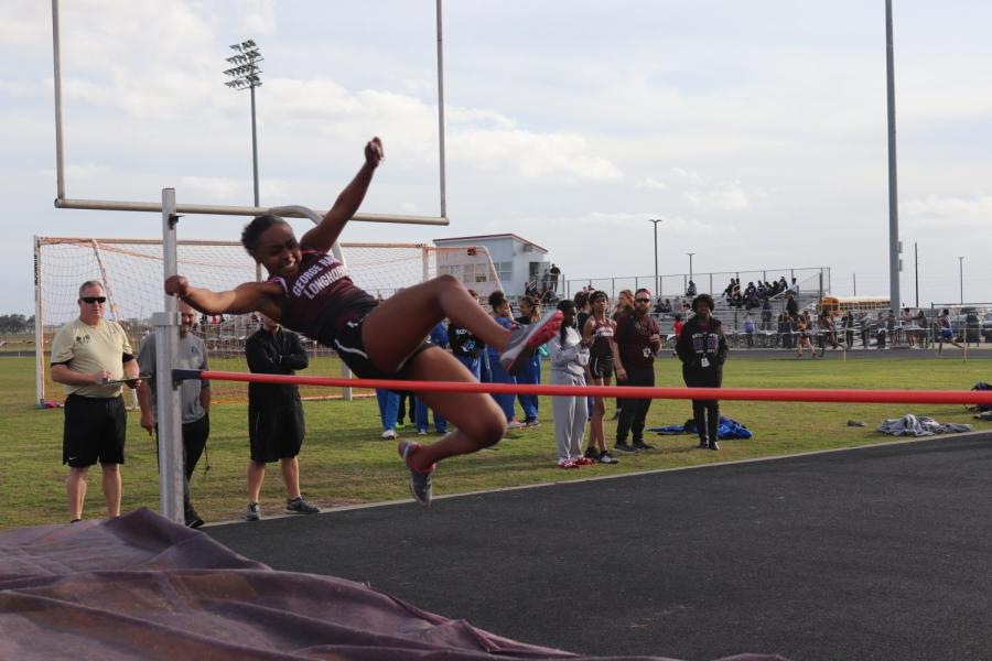JV District Track Meet