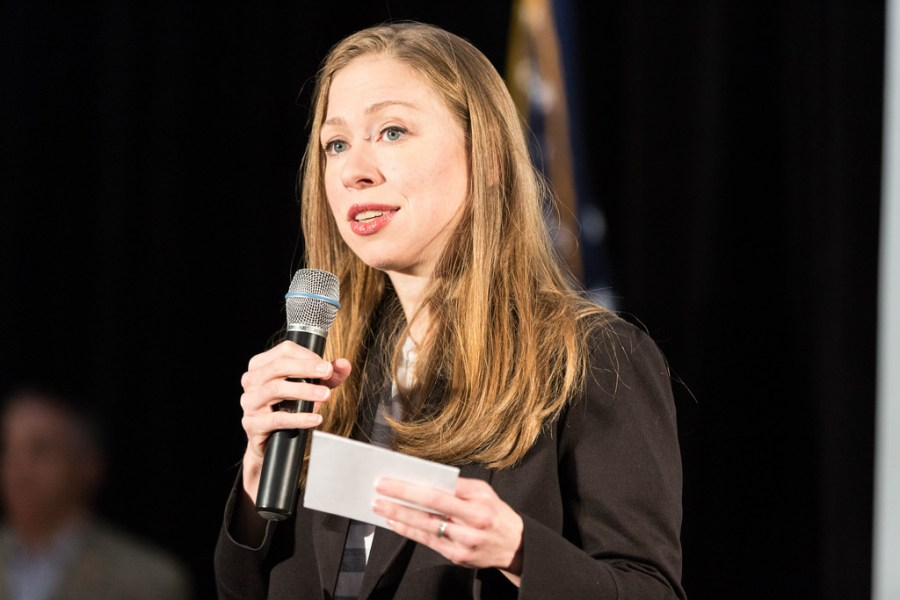 Chelsea+Clinton+expresses+her+uneducated+opinions+during+the+MN+Rally%2C+