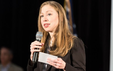 Chelsea Clinton Confronted by NYU Student