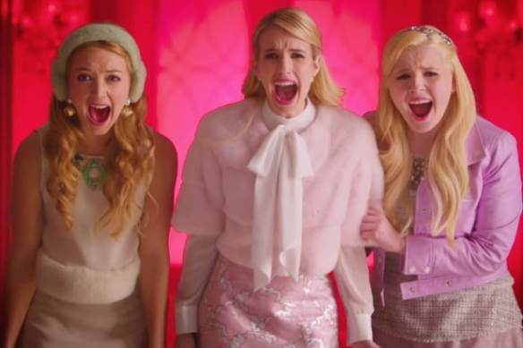 "scream-queens ""Scream Queens"" é renovada para a segunda temporada"