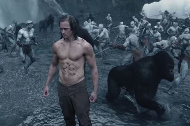 Watch The New Trailer For The Legend Of Tarzan