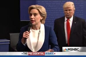 Image result for snl presidential debate