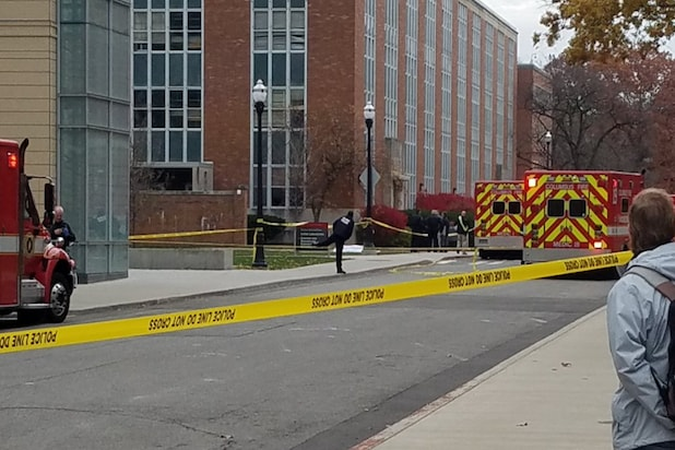 Ohio State Campus Attack Plays Out On Social Media In Real