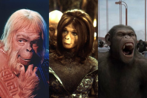 All 9 Planet Of The Apes Movies Ranked Worst To Best