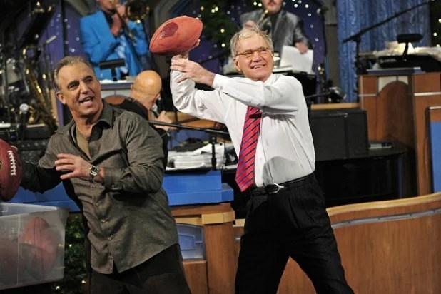 Jay Thomas and David Letterman